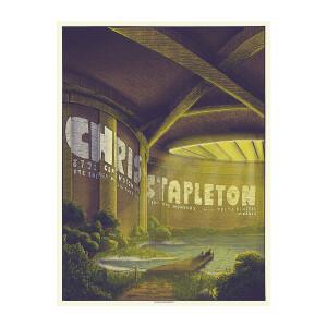 Chris Stapleton Show Poster   Clarkston, MI Night 2   08/07/21
