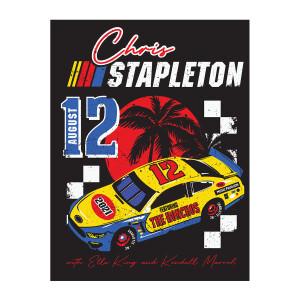 Chris Stapleton Show Poster   Charlotte, NC   08/12/21