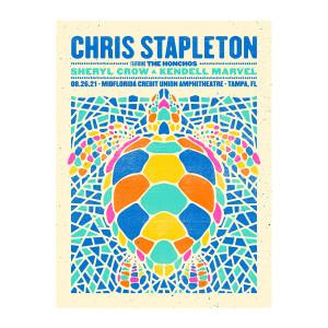 Chris Stapleton Show Poster   Tampa, FL   08/26/21