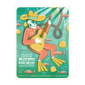 Chris Stapleton Show Poster -- Virginia Beach, VA   09/30/21