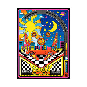 Chris Stapleton Show Poster   Mansfield, MA   10/02/21
