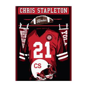 Chris Stapleton Show Poster – Lincoln, NE – 10/15/21