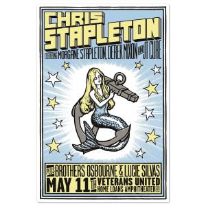 Chris Stapleton Tour Poster Bristow Va