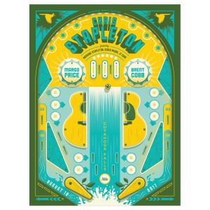 Chris Stapleton Show Poster – Cuyahoga Falls, OH 8/18/17