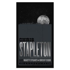 Chris Stapleton Show Poster – Omaha, NE 11/18/17
