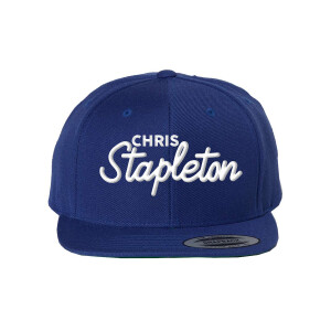 Chris Stapleton Script Flat Bill Hat