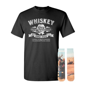 Whiskey & You Tee + Traveller Socks Bundle