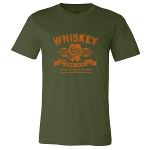 The Whiskey and You T in Green