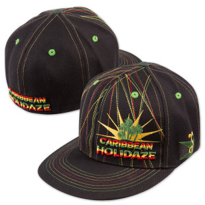 Caribbean Holidaze 2007 Grassroots Fitted Hat