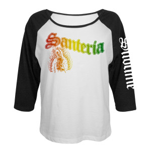 Limited Edition Santeria Ladies Raglan