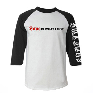 "Limited Edition ""What I got"" Mens Raglan"