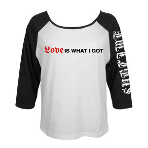 "Limited Edition ""What I got"" Womens Raglan"