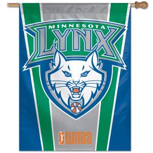"""Lynx  Hardwoods Vertical Flag 27"""" x 37"""""""