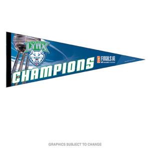"Lynx 2015 WNBA Finals Champions 12""x 30"" Premium Felt Pennant"