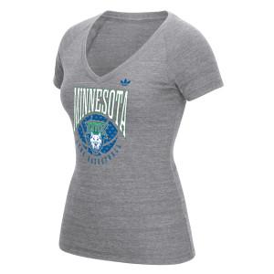 adidas Lynx Ladies Ballin VNeck T-Shirt