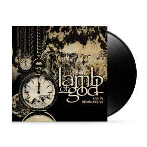 Lamb of God: Live In Richmond, VA Black Vinyl