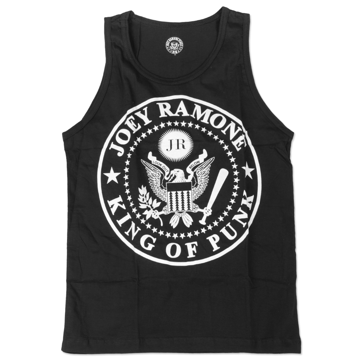 JR King of Punk Tank - Black