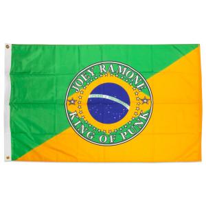 Joey Ramone Rio King of Punk Brazil Flag