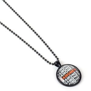 Ramones Ramones Ramones Black Chain Necklace