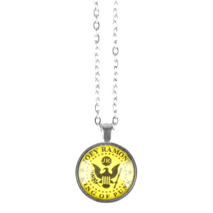 Yellow Eagle King Of Punk Necklace