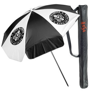 King of Punk Beach Umbrella