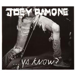 """Joey Ramone """"Ya Know?"""" CD"""