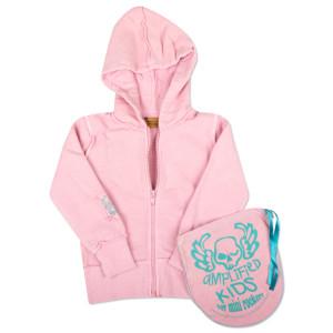 Ramones Kids Hoodie - Pink