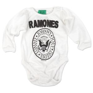 White Ramones Onesie