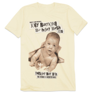 Joey Ramone Birthday Bash 2015 T-Shirt