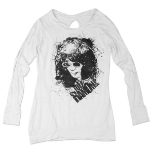JR Sketch L/S Womens Tee