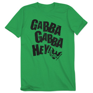 Gabba Gabba Hey Green Tee