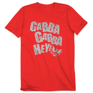 Red Gabba Gabba Hey Tshirt