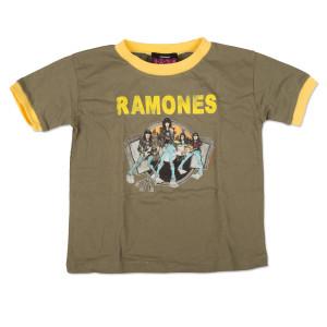Ramones Cartoon Kids Tee