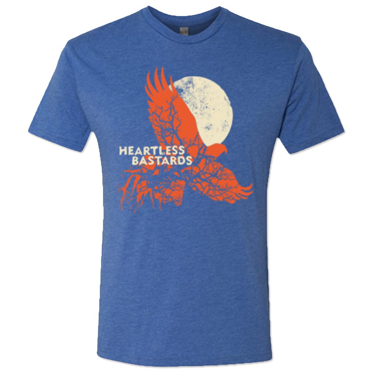 Heartless Bastards Hawk Tee - Blue