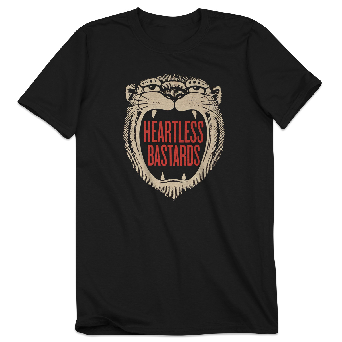 Heartless Bastards Tiger T-Shirt