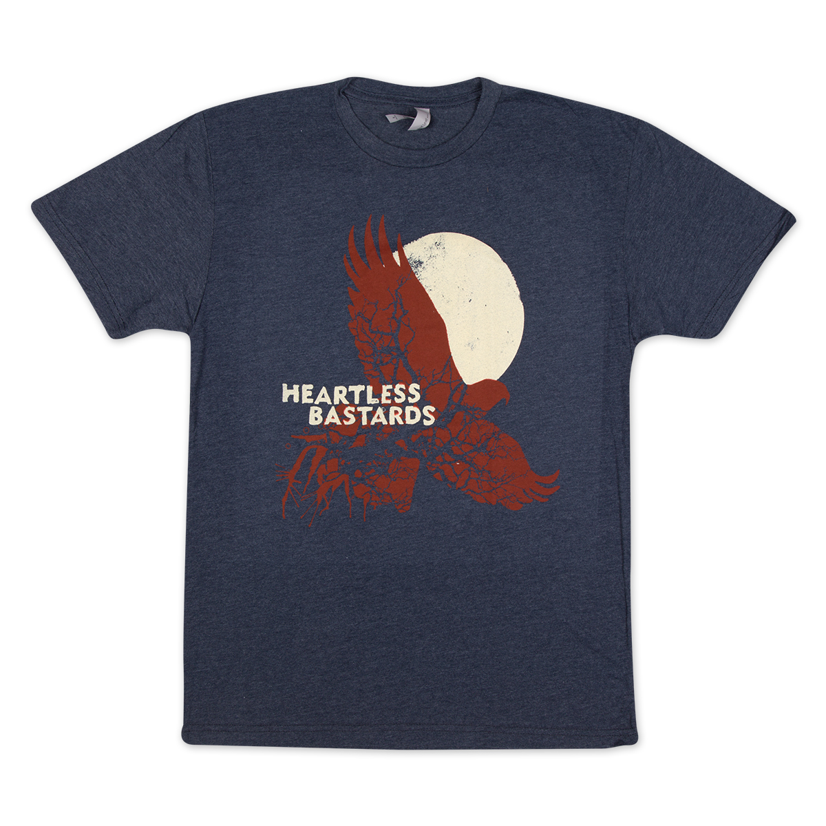 Heartless Bastards Hawk Tee - Navy