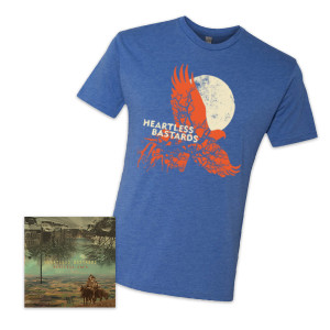 Heartless Bastards Restless Ones CD + T-shirt Bundle
