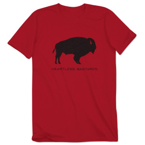 Men's Heartless Bastards Buffalo T-Shirt