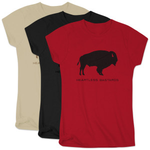 Women's Heartless Bastards Buffalo T-Shirt