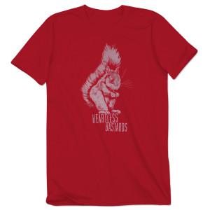 Men's Heartless Bastards Squirrel T-Shirt