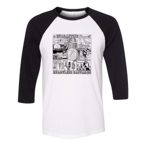 Quarantine Blues Raglan