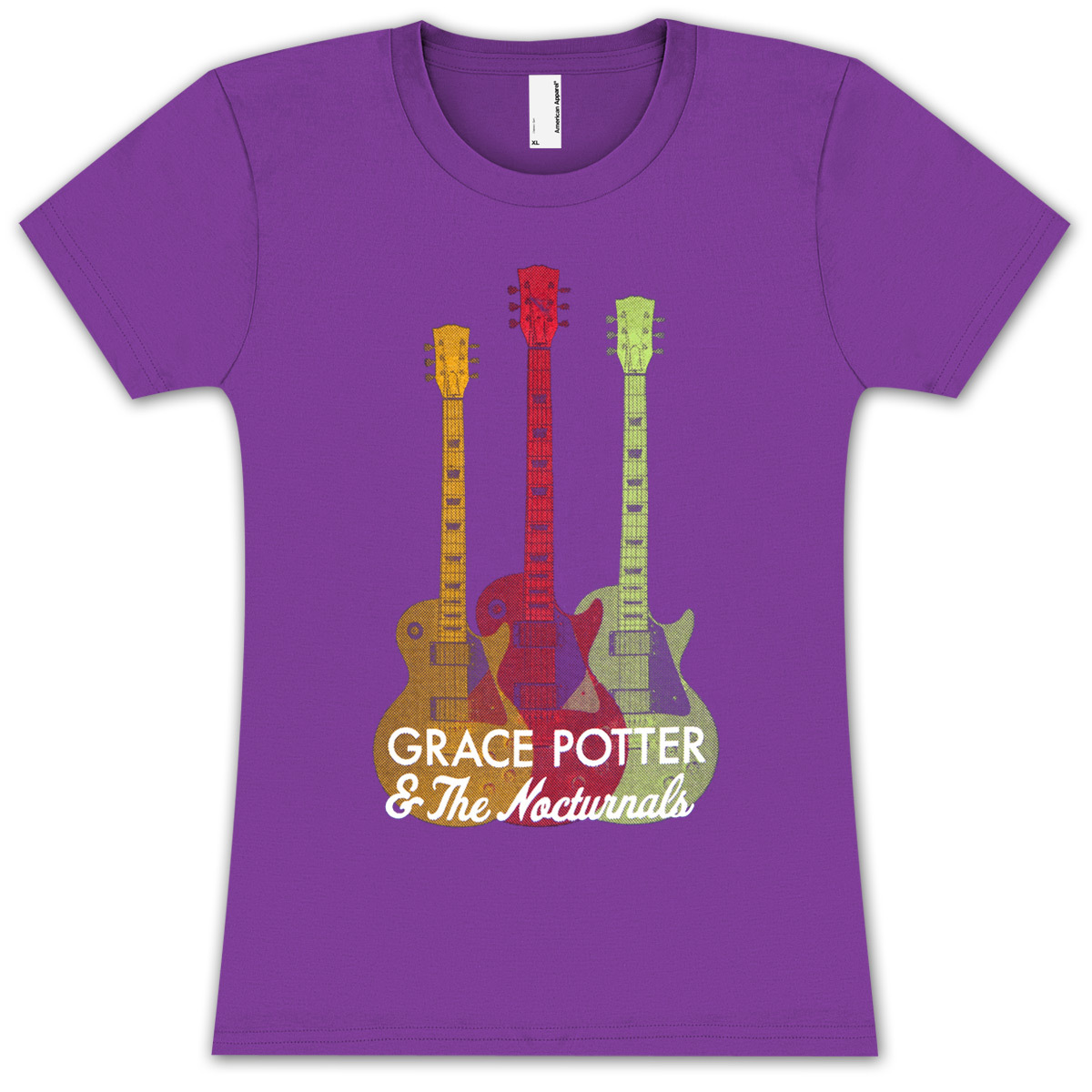 Grace Potter & The Nocturnals Ladies Guitar T-Shirt
