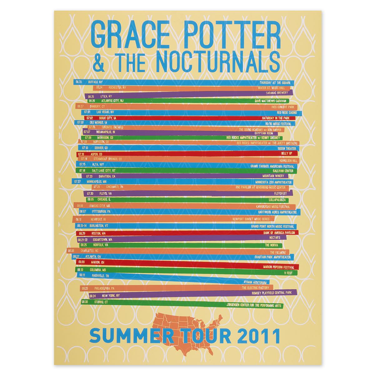 2011 Summer Tour Poster