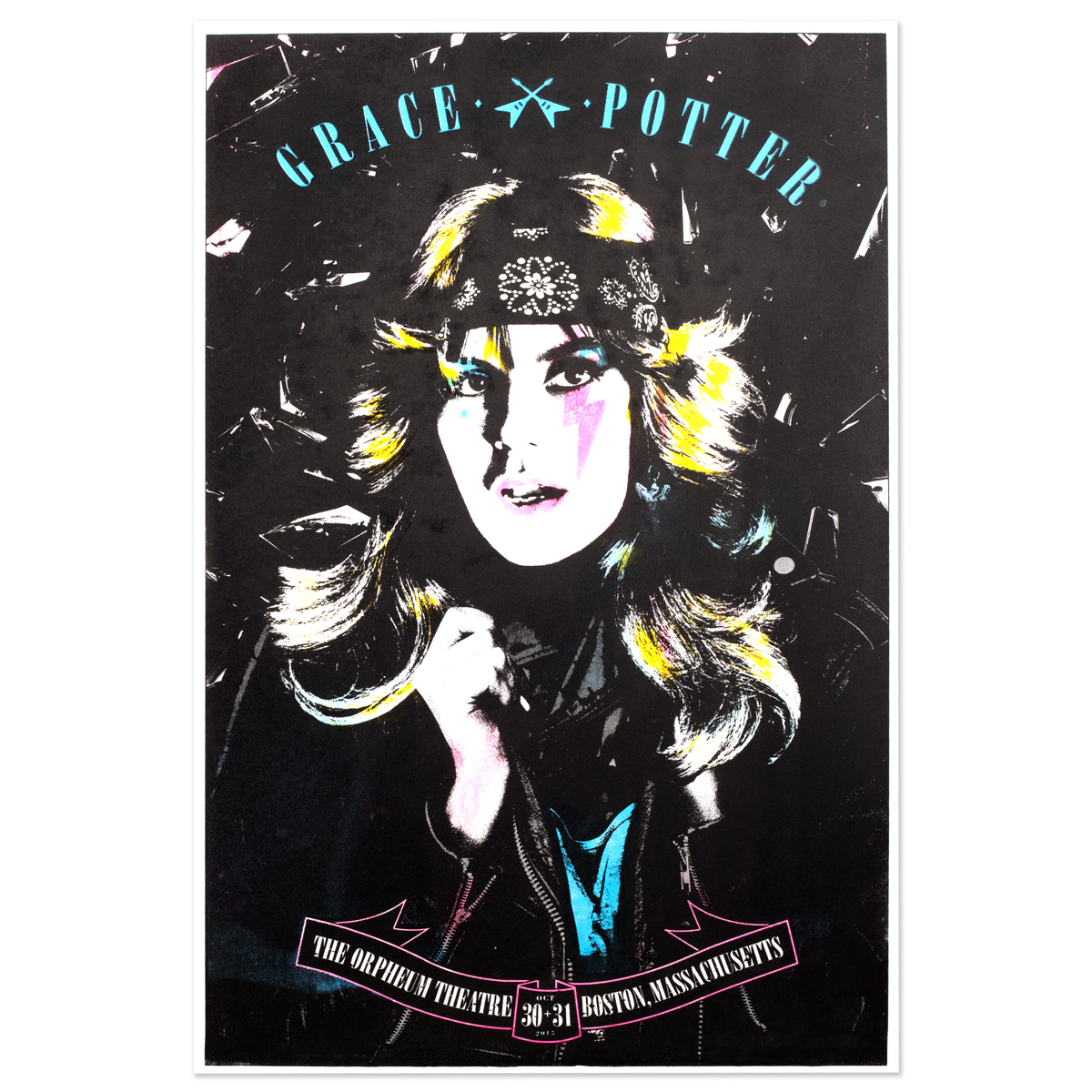 Grace Potter & The Nocturnals 10/30/15 - 10/31/15 Poster