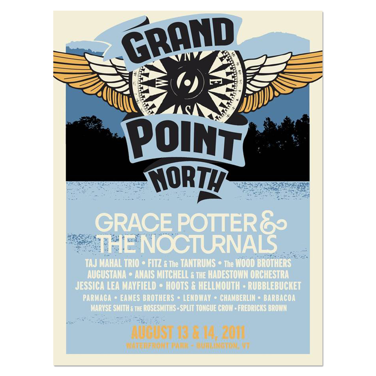 Grand Point North Wings Poster