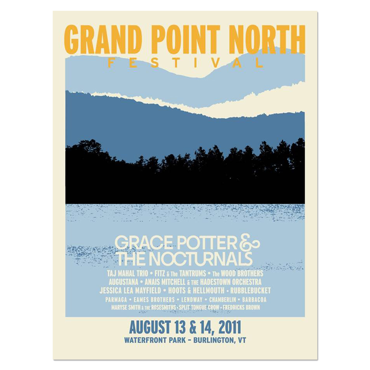 Signed Grand Point North Landscape Poster