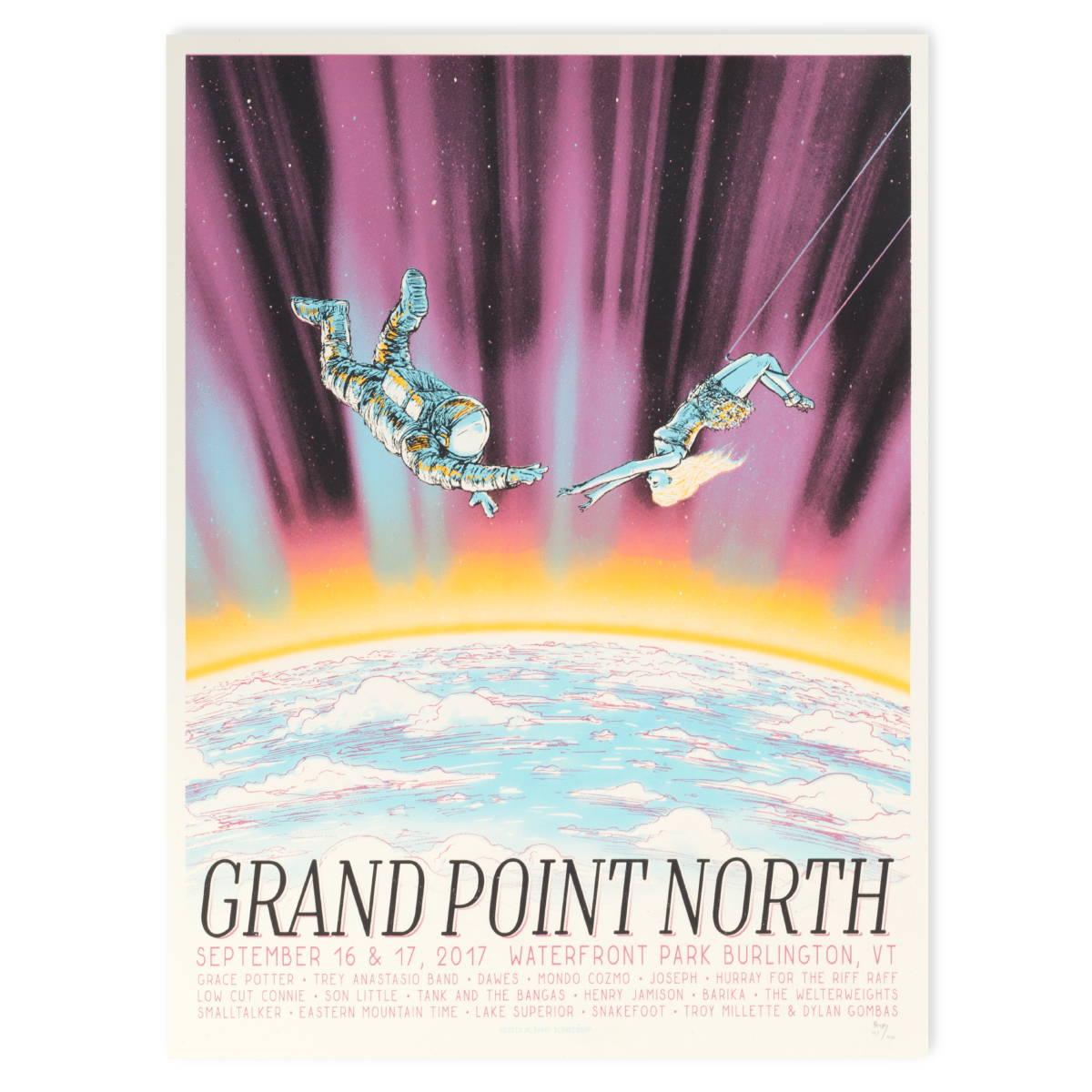 Grand Point North 2017 Poster