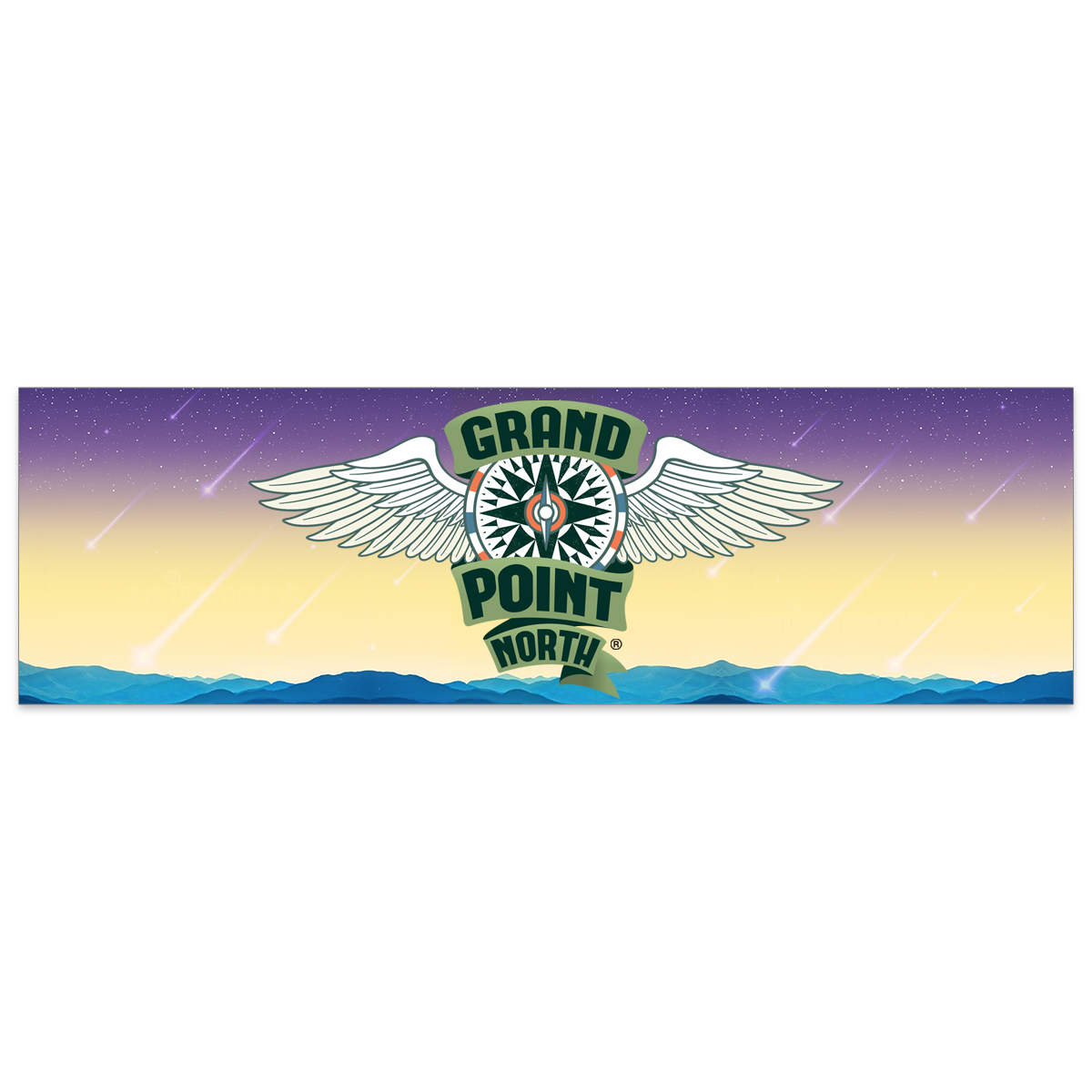 Grand Point North ® Bumper Sticker