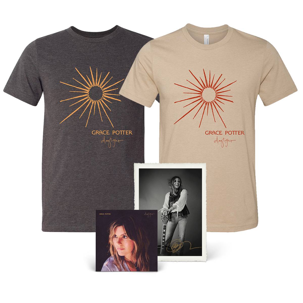 Daylight CD + Tee + Signed Litho