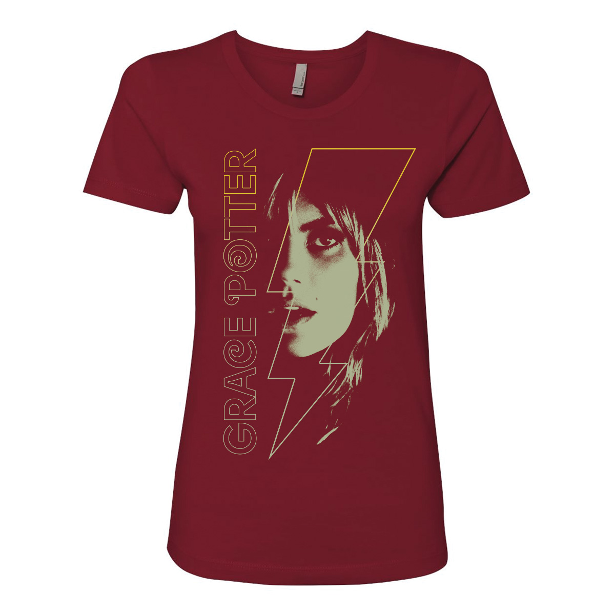 Grace Potter Women's Bolt Face T-Shirt